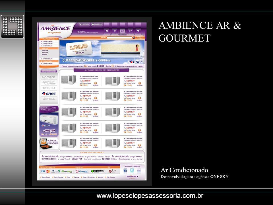 AMBIENCE AR & GOURMET Ar Condicionado www.lopeselopesassessoria.com.br