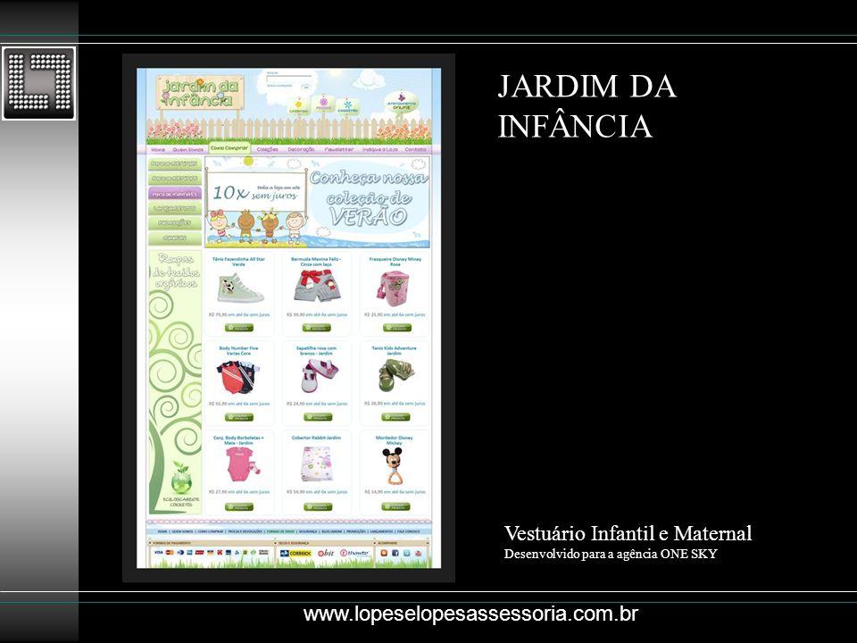 JARDIM DA INFÂNCIA Vestuário Infantil e Maternal