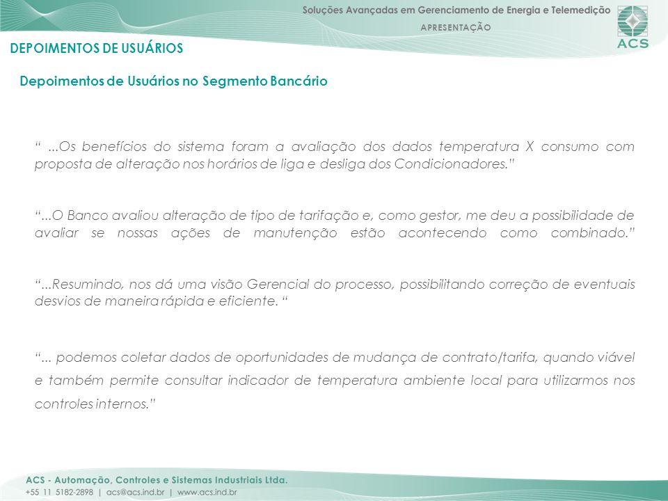 DEPOIMENTOS DE USUÁRIOS