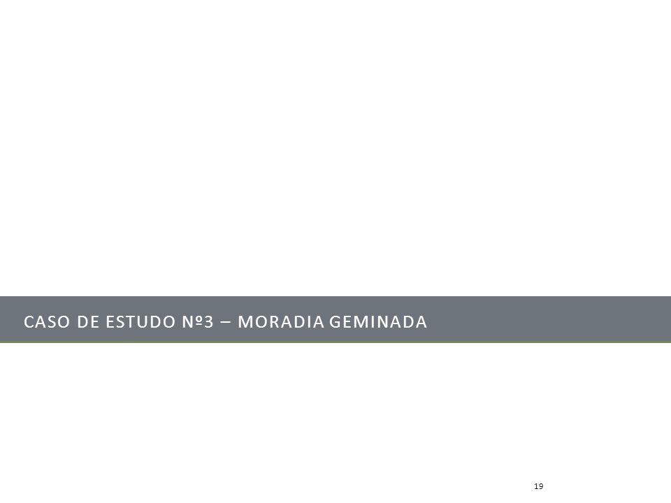 Caso de Estudo nº3 – Moradia geminada