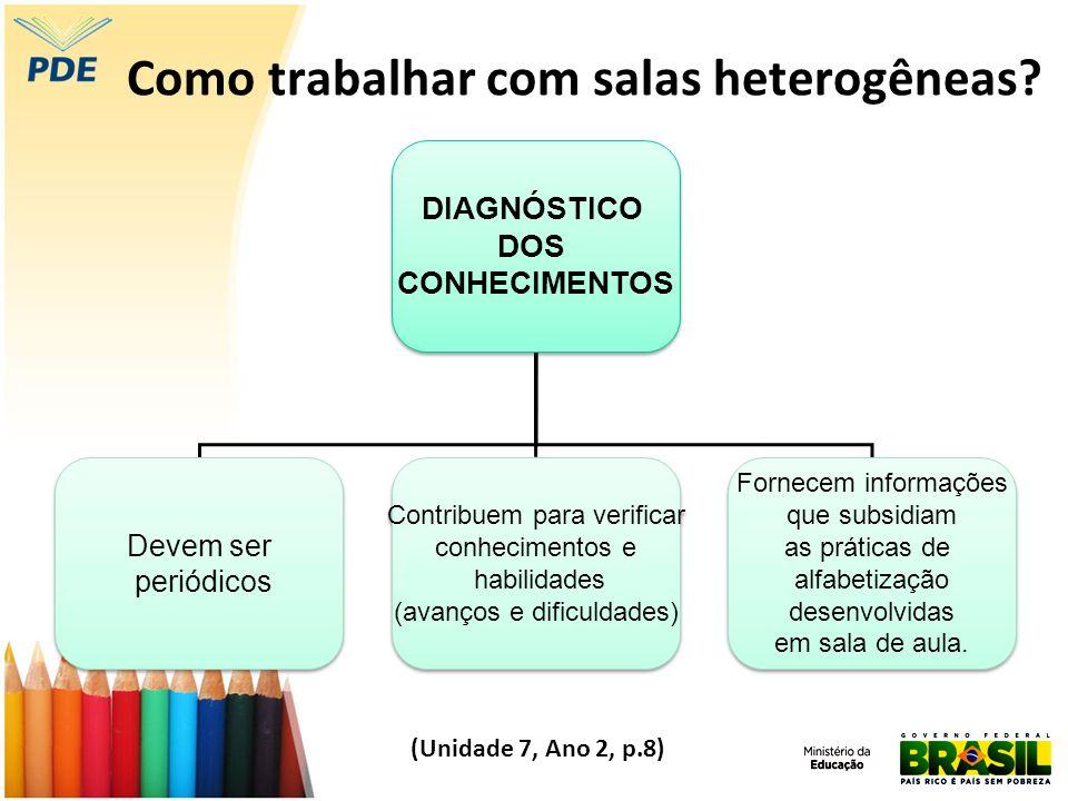 Como trabalhar com salas heterogêneas