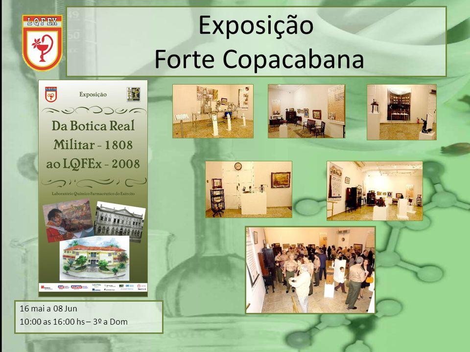 Exposição Forte Copacabana 16 mai a 08 Jun