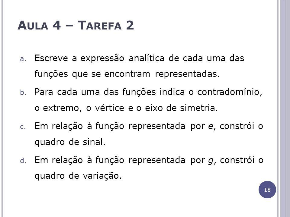 Aula 4 – Tarefa 2
