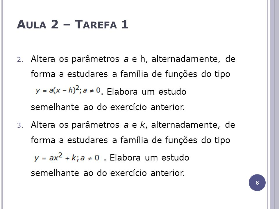Aula 2 – Tarefa 1