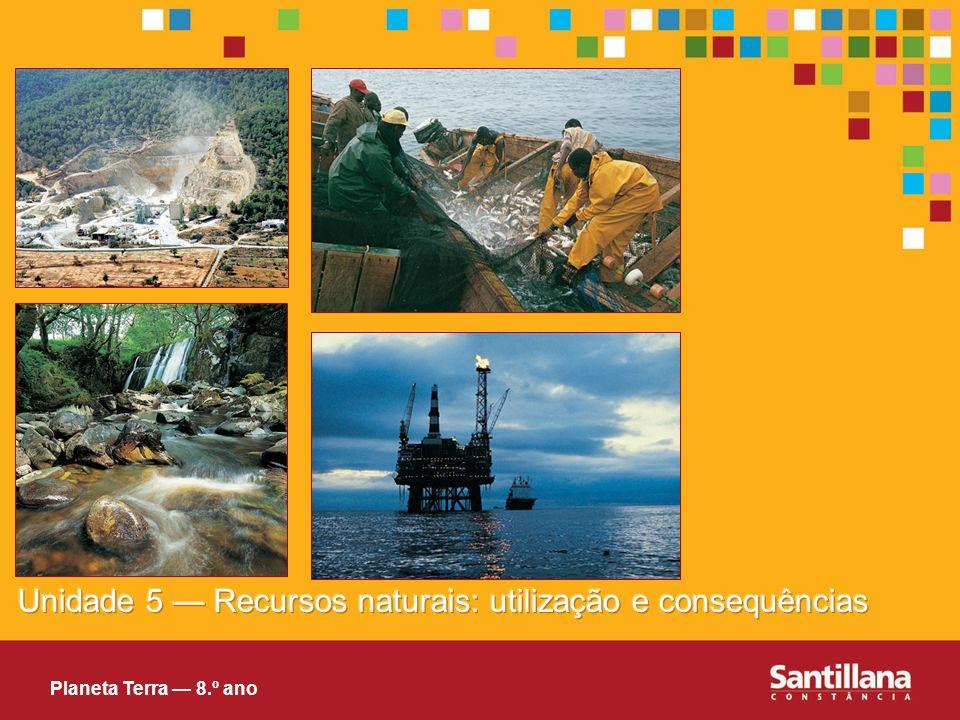Unidade 5 — Recursos naturais: utilização e consequências