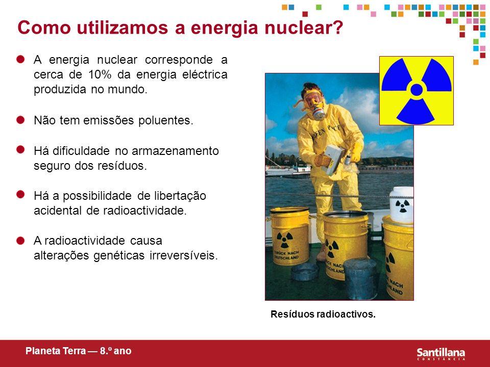 Como utilizamos a energia nuclear