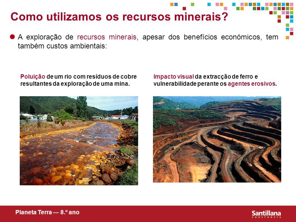 Como utilizamos os recursos minerais