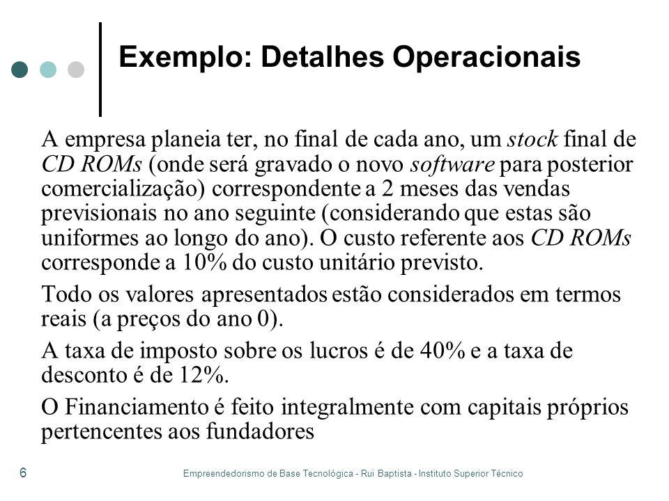 Exemplo: Detalhes Operacionais