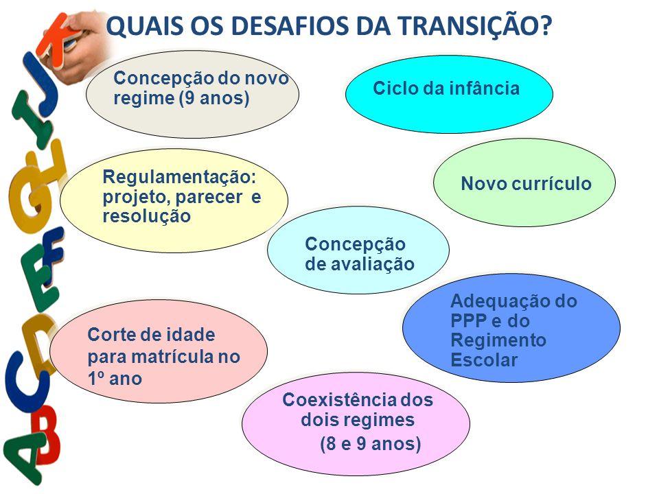 QUAIS OS DESAFIOS DA TRANSIÇÃO