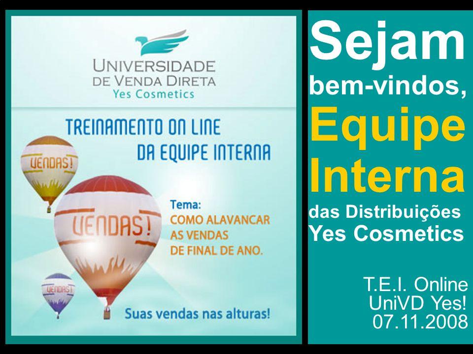 Sejam bem-vindos, Equipe Interna T.E.I. Online UniVD Yes! 07.11.2008