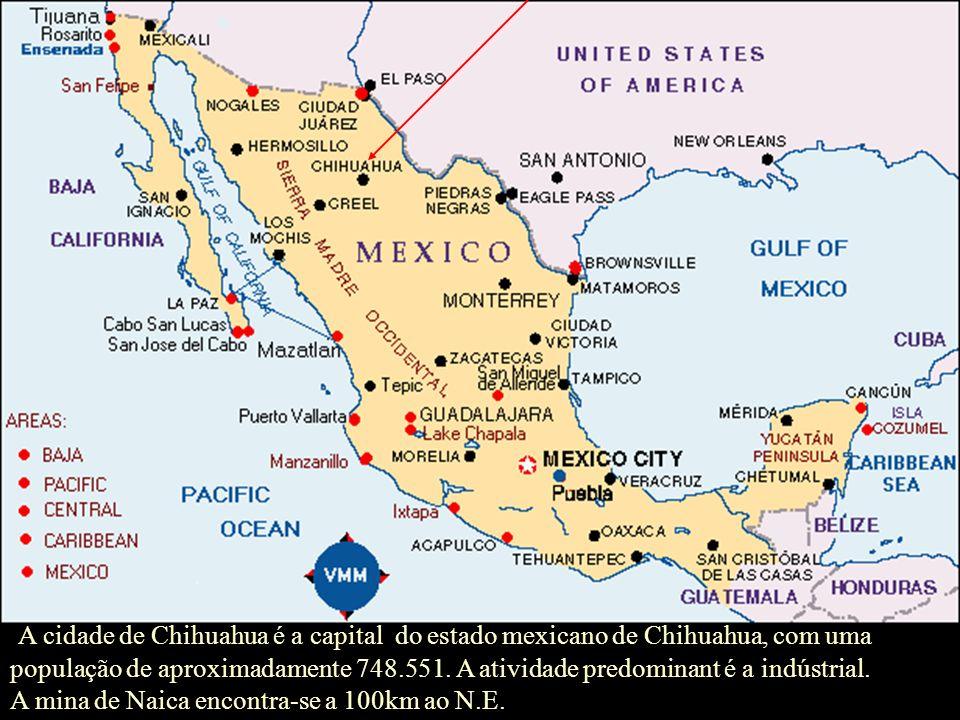 A cidade de Chihuahua é a capital do estado mexicano de Chihuahua, com uma população de aproximadamente 748.551. A atividade predominant é a indústrial.