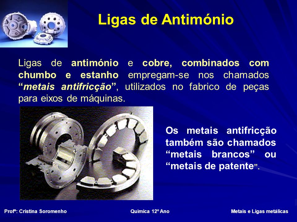 Ligas de Antimónio