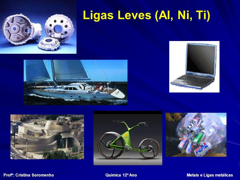 Ligas Leves (Al, Ni, Ti)