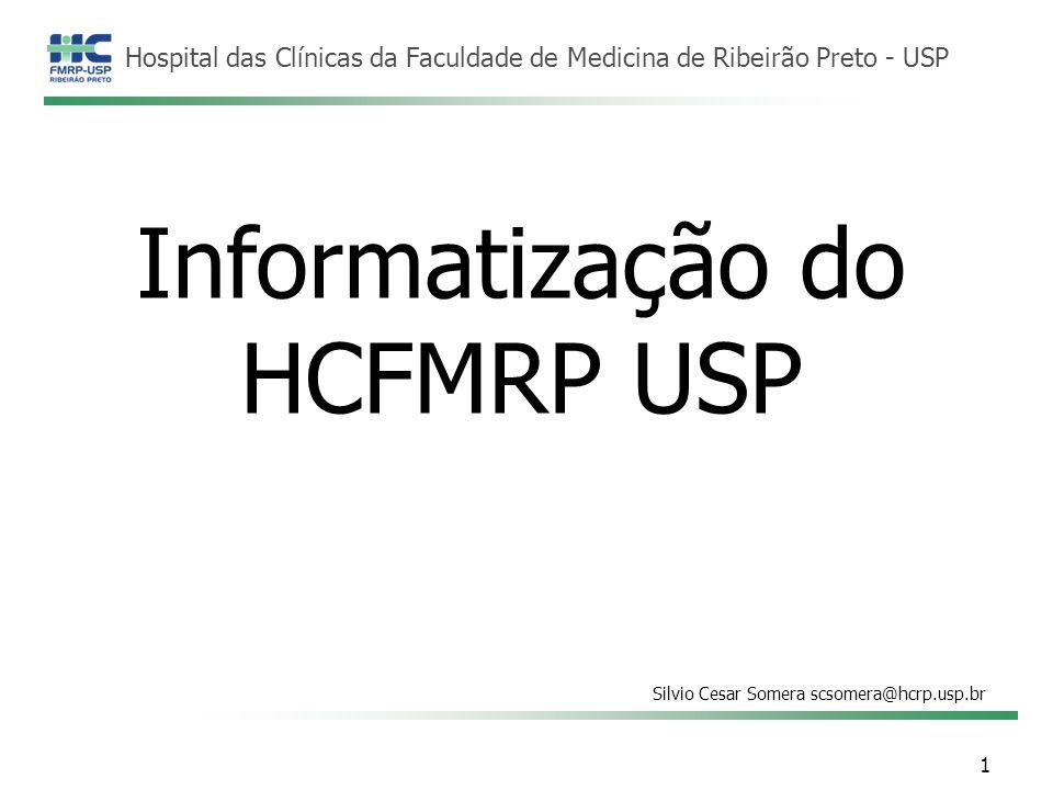 Informatização do HCFMRP USP