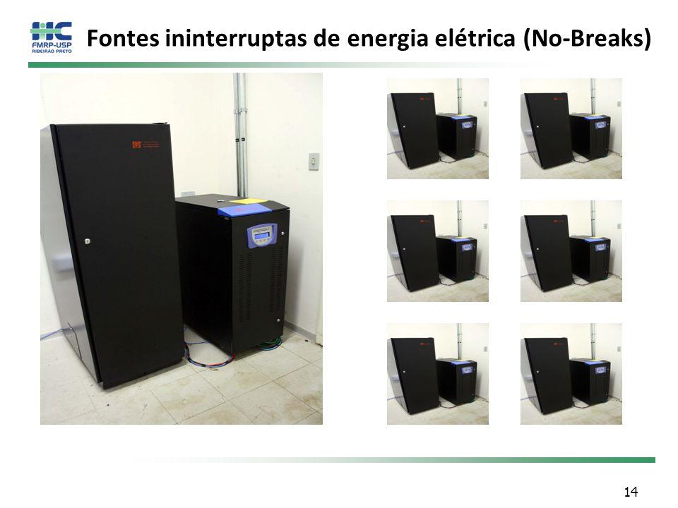 Fontes ininterruptas de energia elétrica (No-Breaks)