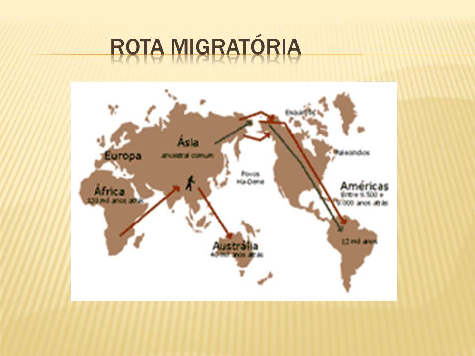 ROTA MIGRATÓRIA
