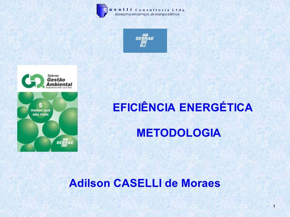 EFICIÊNCIA ENERGÉTICA Adilson CASELLI de Moraes