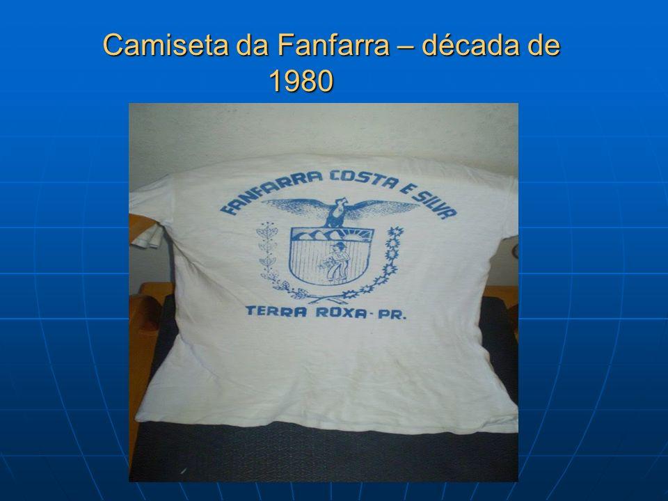 Camiseta da Fanfarra – década de 1980