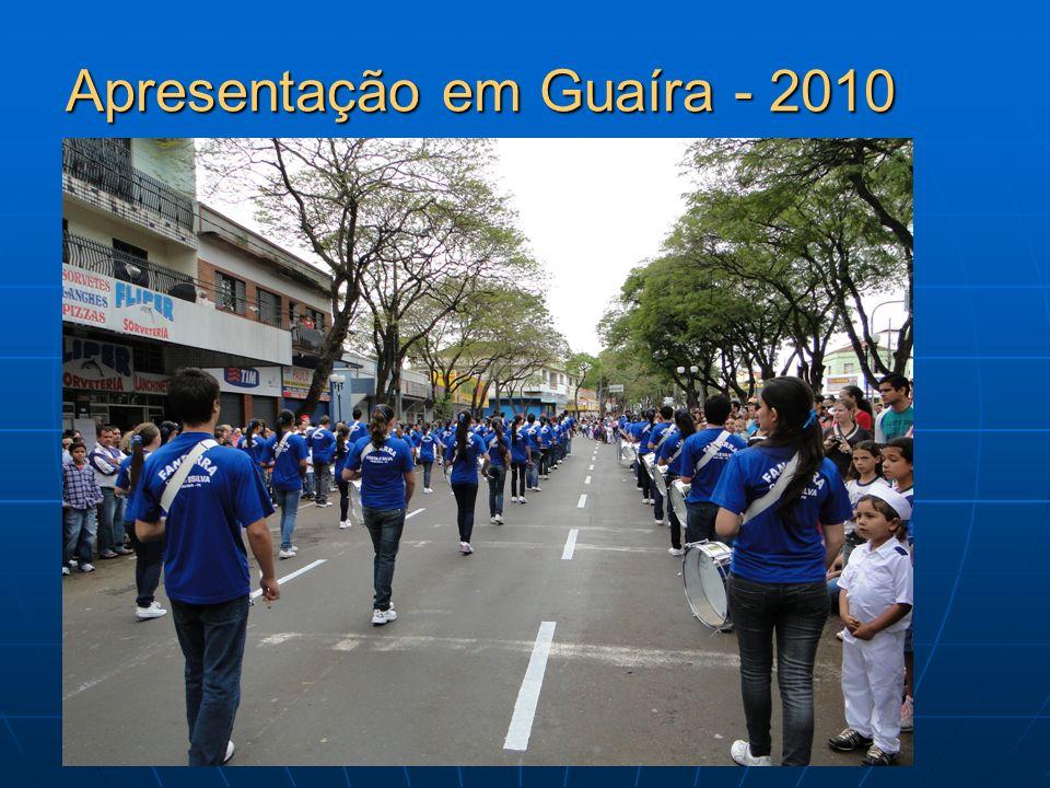 Apresentação em Guaíra - 2010
