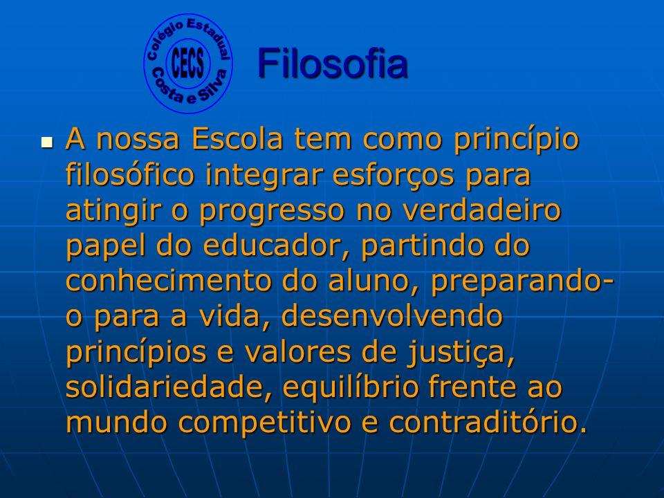 Colégio Estadual Costa e Silva. CECS. Filosofia.
