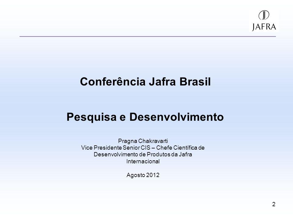 Conferência Jafra Brasil Pesquisa e Desenvolvimento