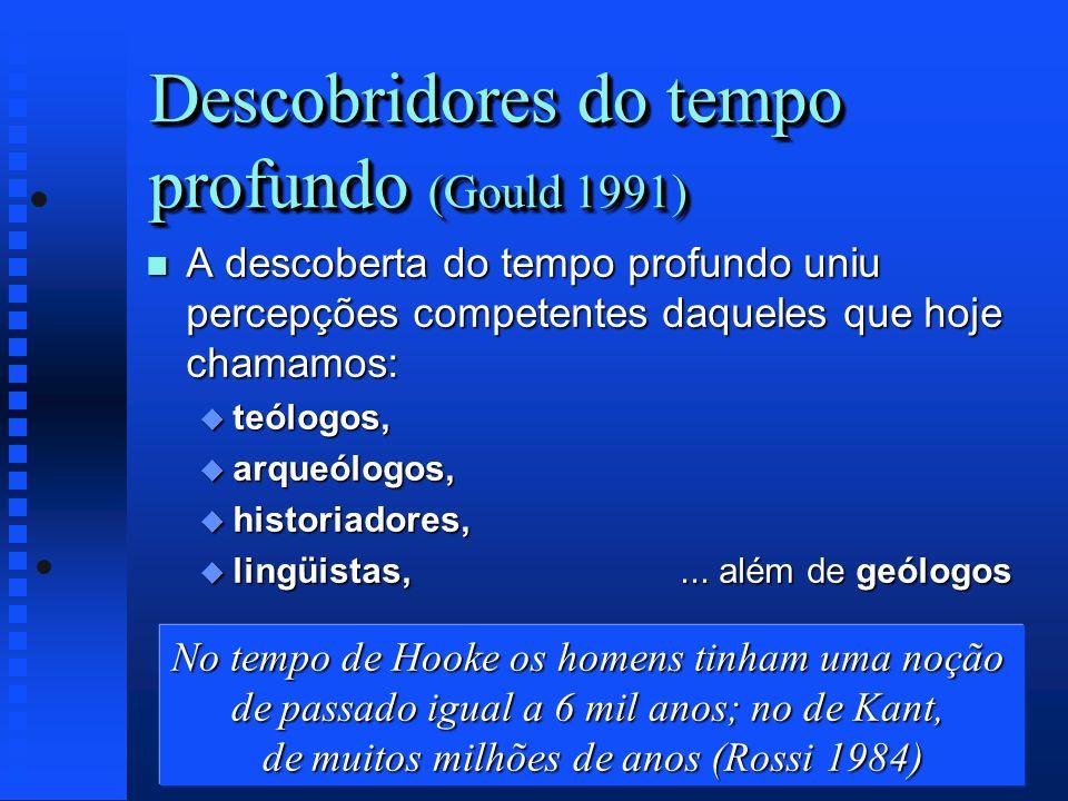 Descobridores do tempo profundo (Gould 1991)