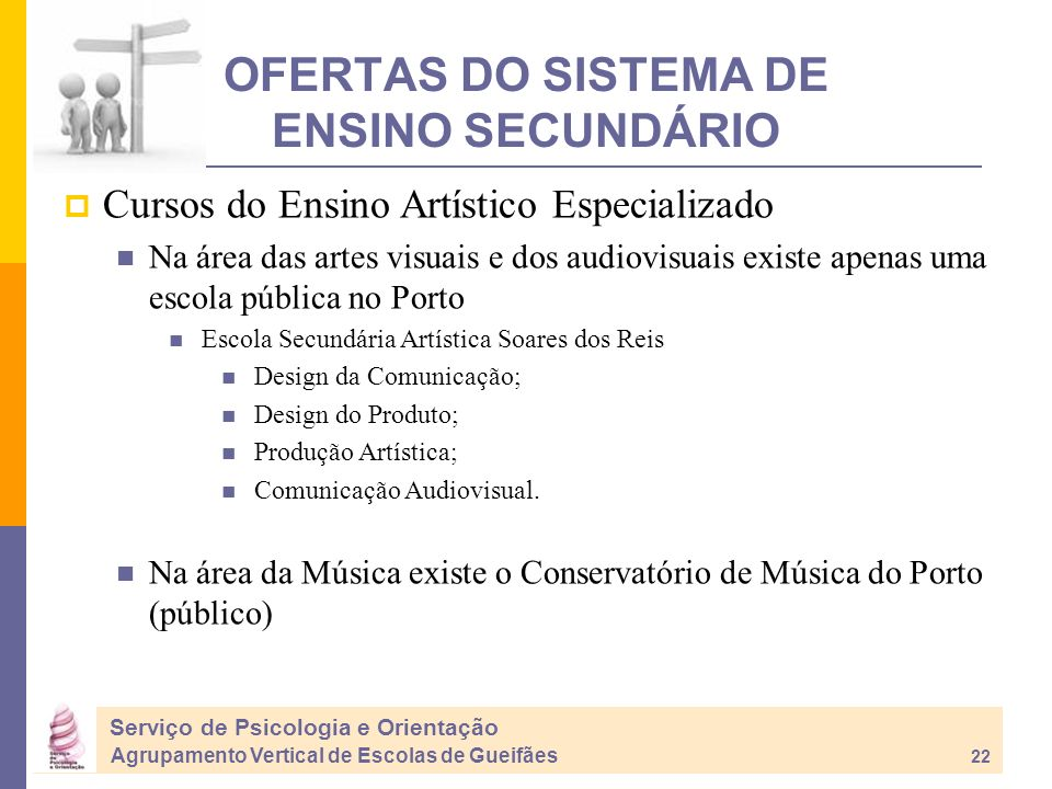 OFERTAS DO SISTEMA DE ENSINO SECUNDÁRIO