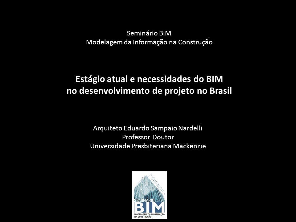Seminário BIM Modelagem da Informação na Construção