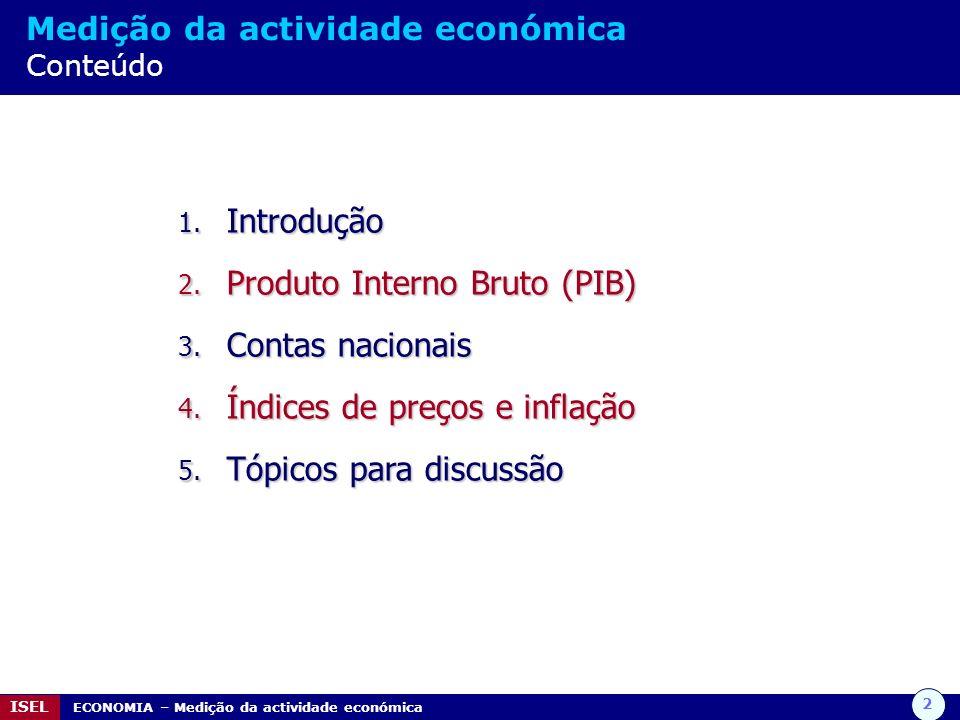 Produto Interno Bruto (PIB) Contas nacionais