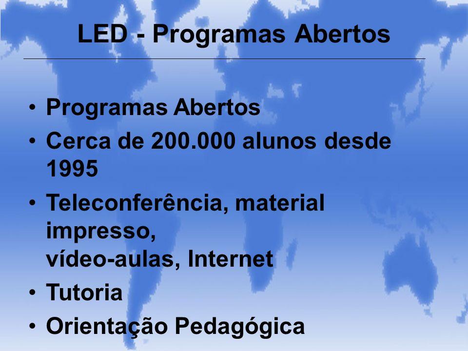 LED - Programas Abertos