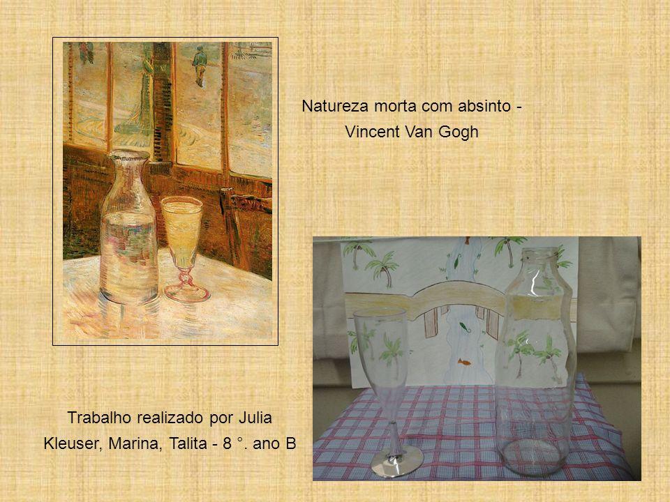 Natureza morta com absinto - Vincent Van Gogh
