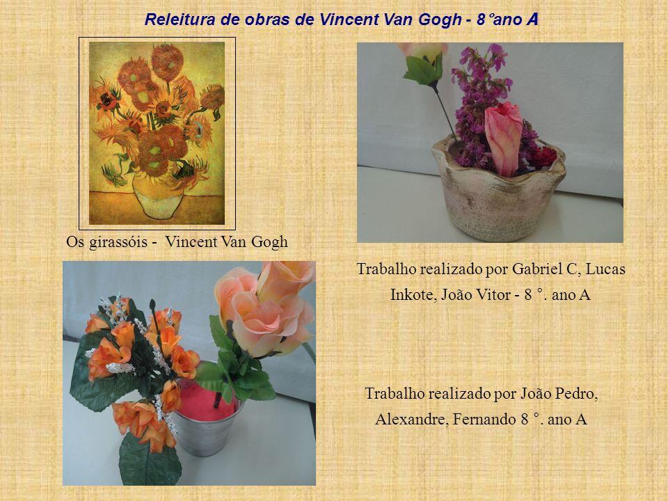 Releitura de obras de Vincent Van Gogh - 8°ano A