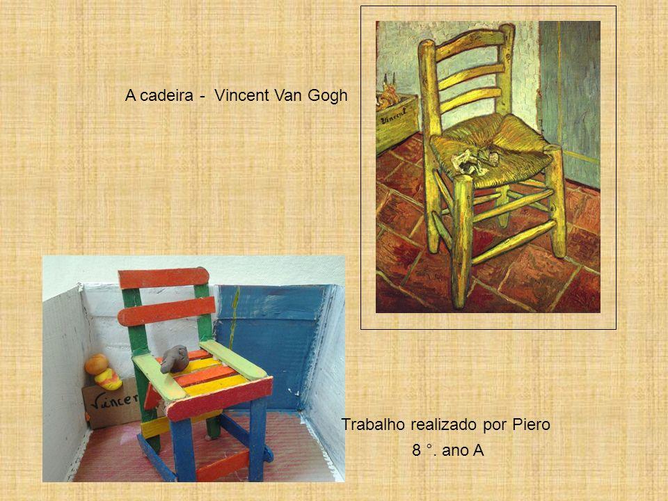 A cadeira - Vincent Van Gogh