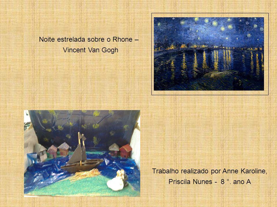Noite estrelada sobre o Rhone – Vincent Van Gogh