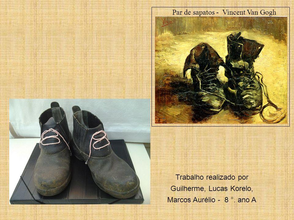 Par de sapatos - Vincent Van Gogh