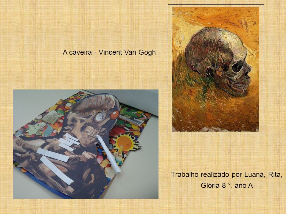 A caveira - Vincent Van Gogh
