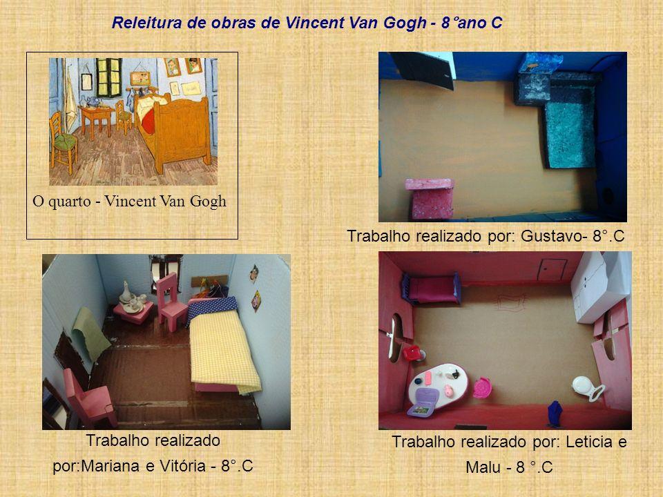 Releitura de obras de Vincent Van Gogh - 8°ano C