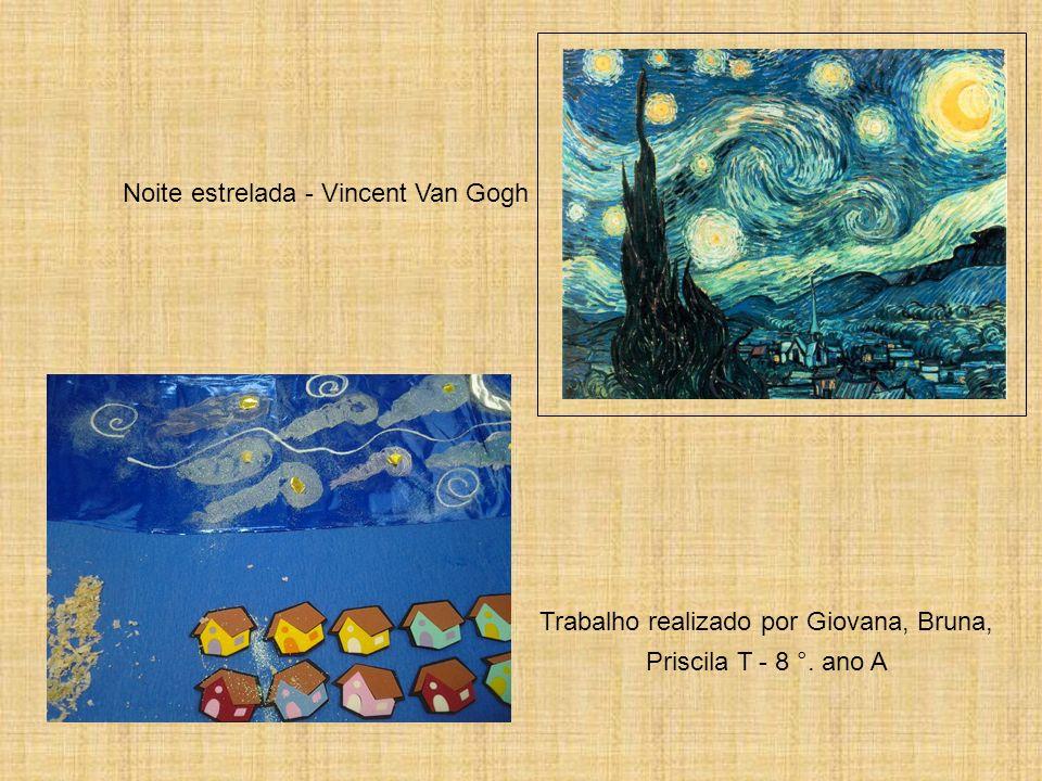 Noite estrelada - Vincent Van Gogh