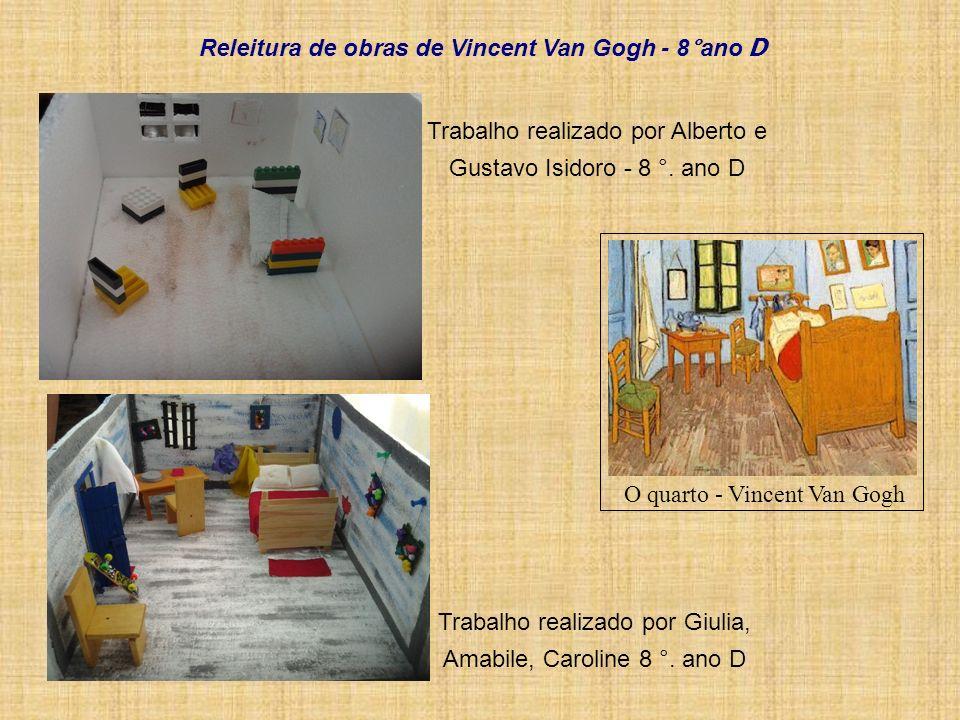Releitura de obras de Vincent Van Gogh - 8°ano D