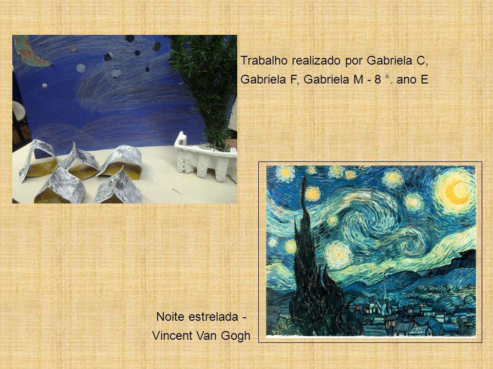 Trabalho realizado por Gabriela C, Gabriela F, Gabriela M - 8 °. ano E