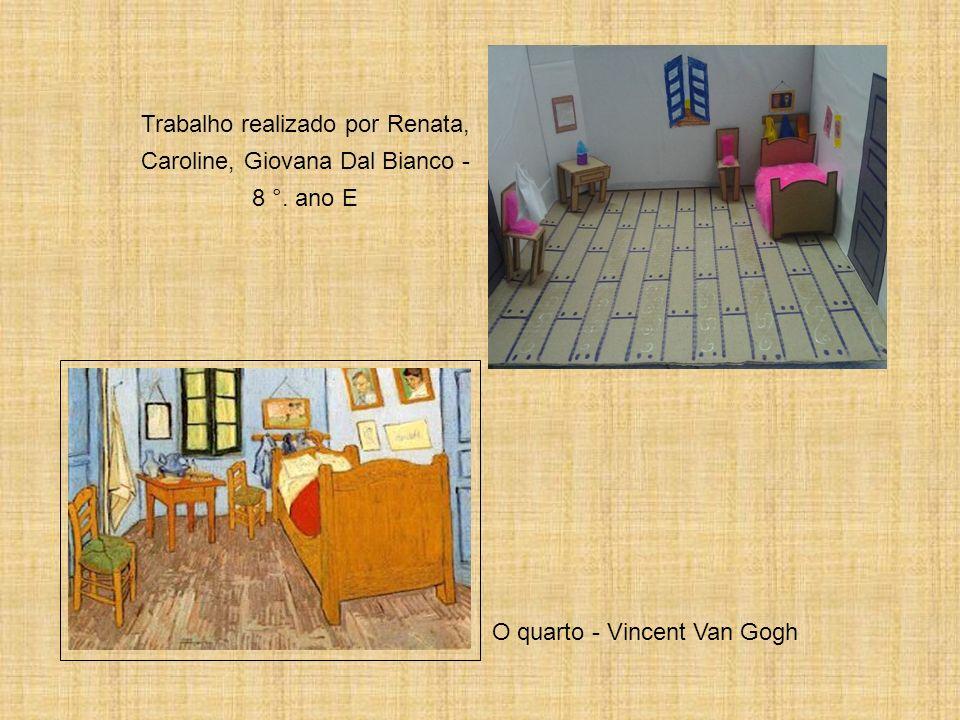 O quarto - Vincent Van Gogh