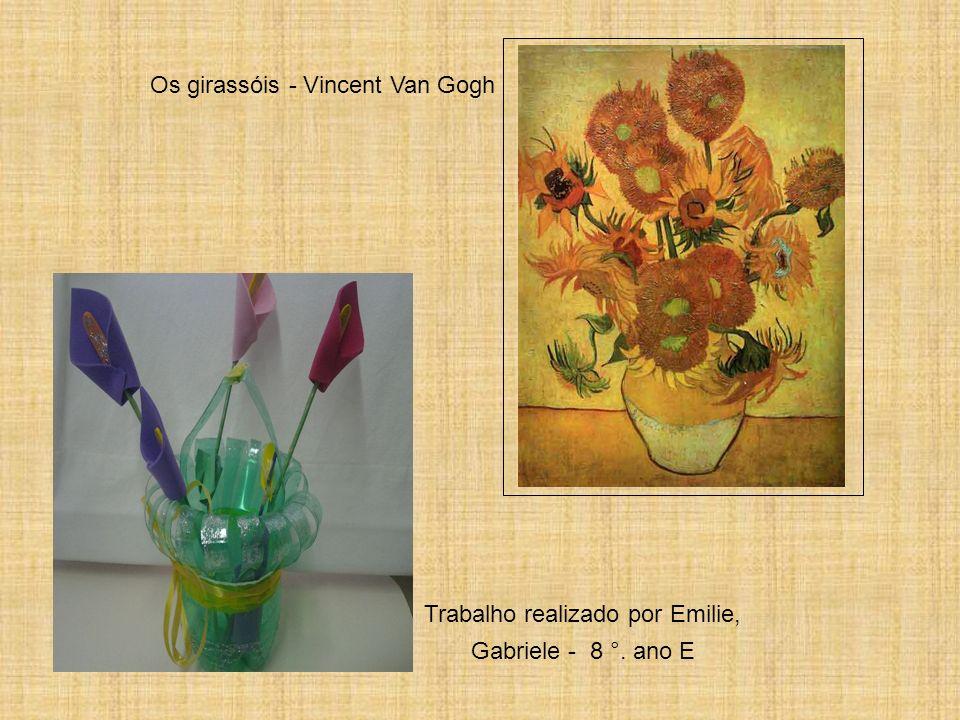 Os girassóis - Vincent Van Gogh