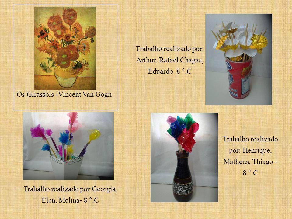Trabalho realizado por: Arthur, Rafael Chagas, Eduardo 8 °.C
