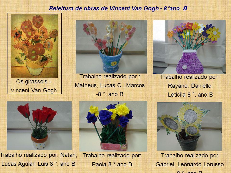 Releitura de obras de Vincent Van Gogh - 8°ano B