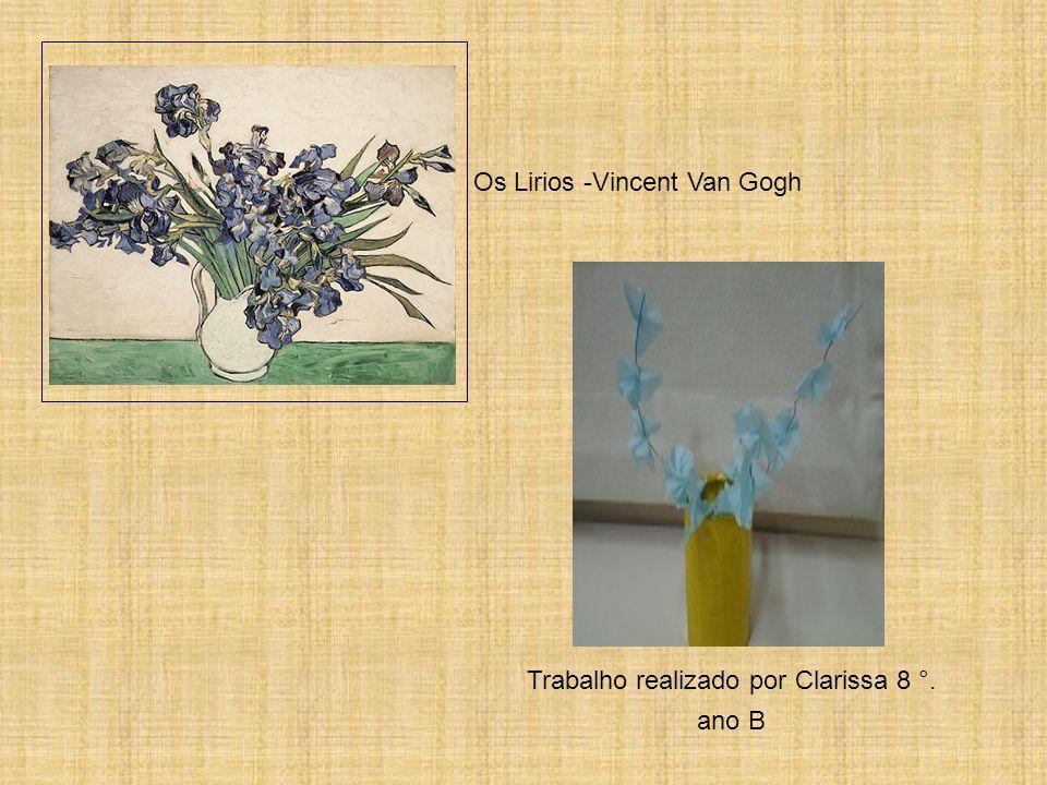 Os Lirios -Vincent Van Gogh