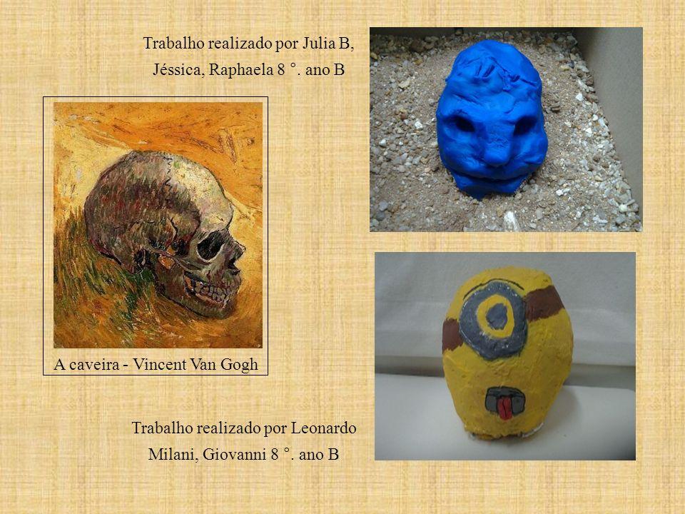 Trabalho realizado por Julia B, Jéssica, Raphaela 8 °. ano B