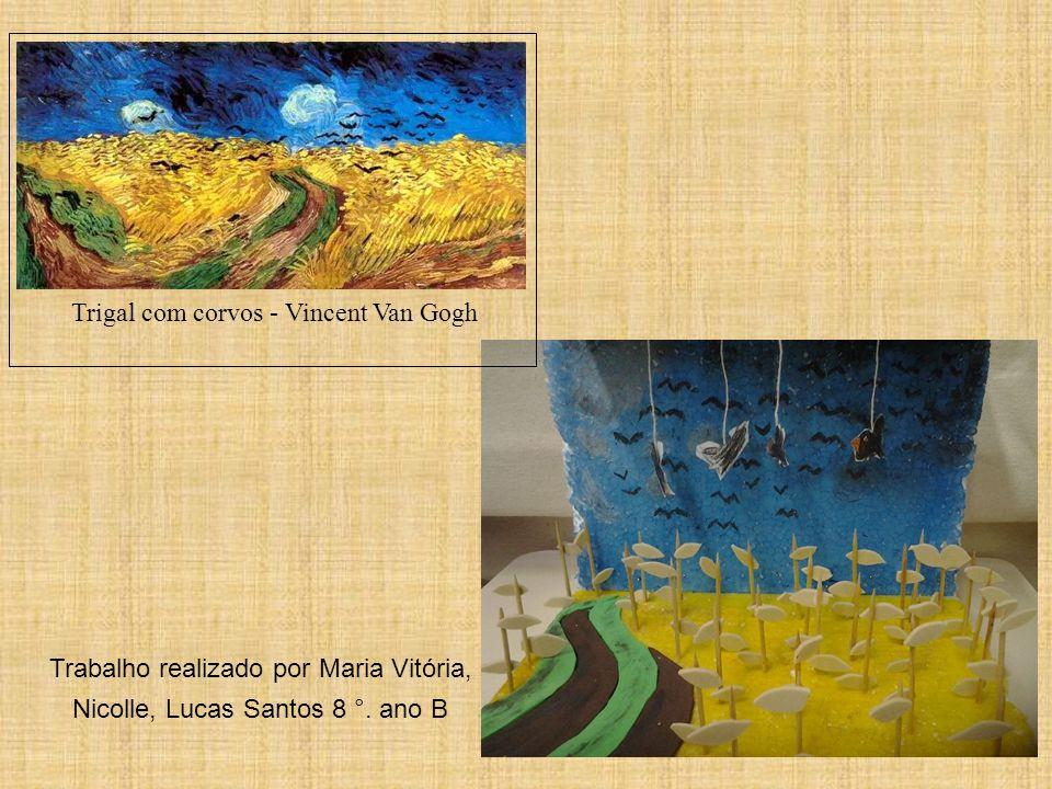 Trigal com corvos - Vincent Van Gogh