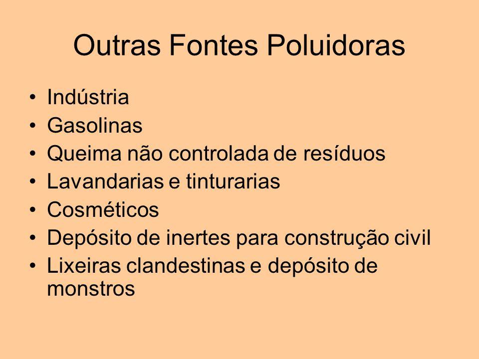 Outras Fontes Poluidoras