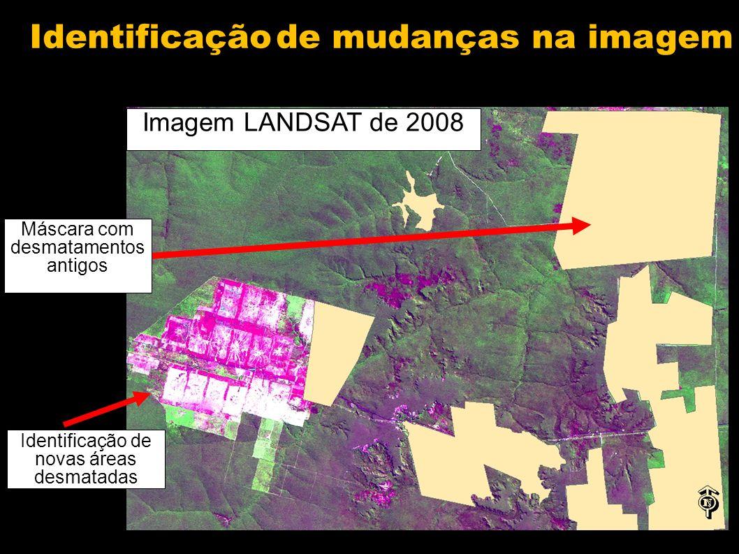 Identificação de mudanças na imagem