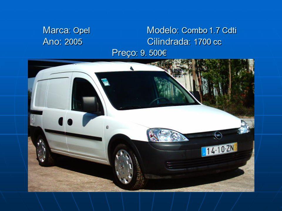 Marca: Opel. Modelo: Combo 1